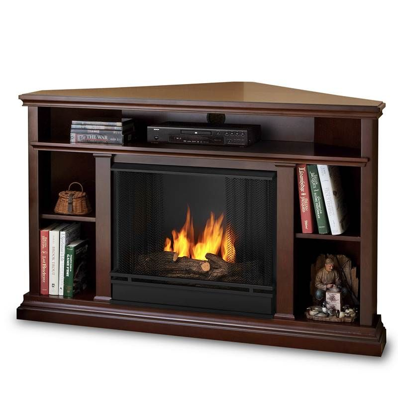 Best Modern Corner Fireplace TV Stand
